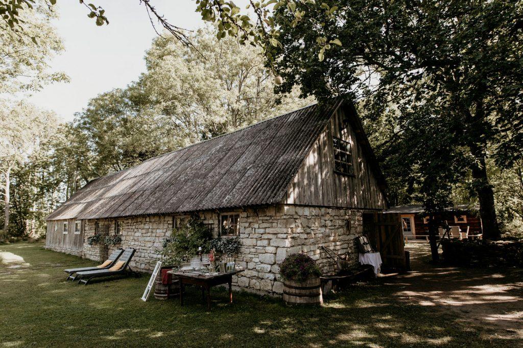 Destination wedding in Saaremaa island in Estonia.