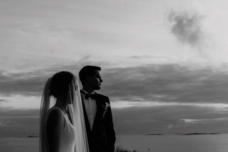 Wedding in tenalji von fersen, Suomenlinna island, Helsinki, Finland