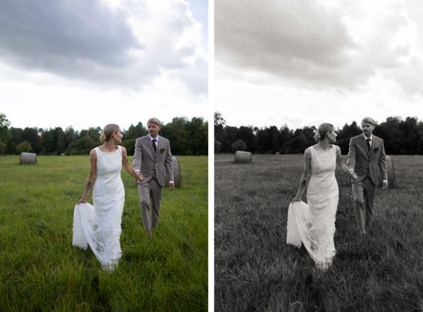 Black and white Lightroom presets for photographers